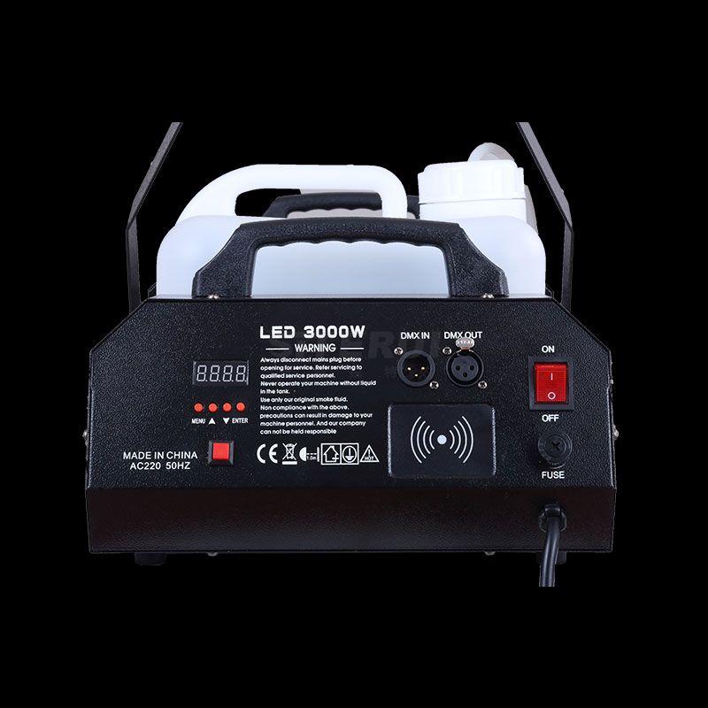 1500W fog machine,  wire+wireless remote controller