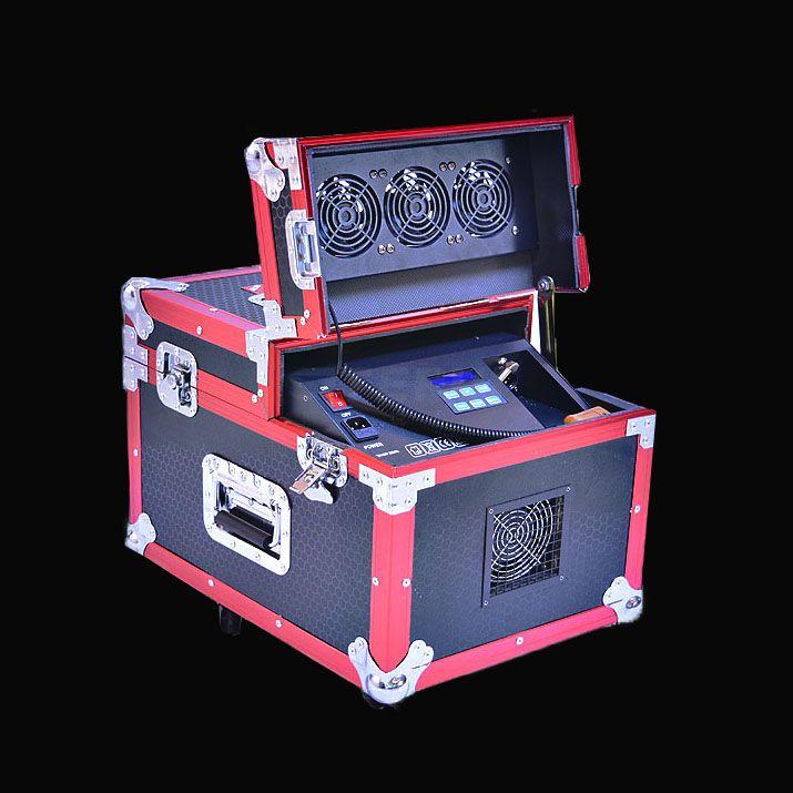 Dual haze machine 660w(DMX+remote+LCD)