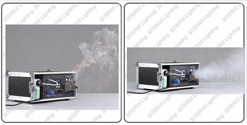 1000W morning haze machine, DMX LCD with flight case
